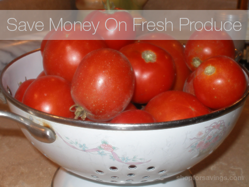 Save Money on Fresh Produce